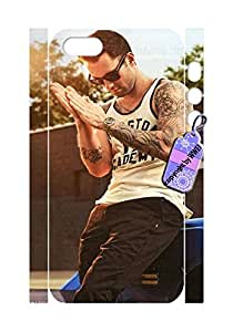 Iphone 5&5S cases,PERFECT PATTERN *Adam Levine* Flexible Slim Case Cover for Iphone 5&5S.