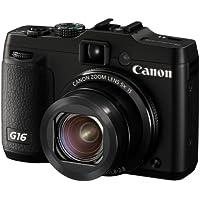 Canon Digital Camera Powershot G16 Wide-Angle 28Mm 5X Optical Zoom Psg16 Jp F/S
