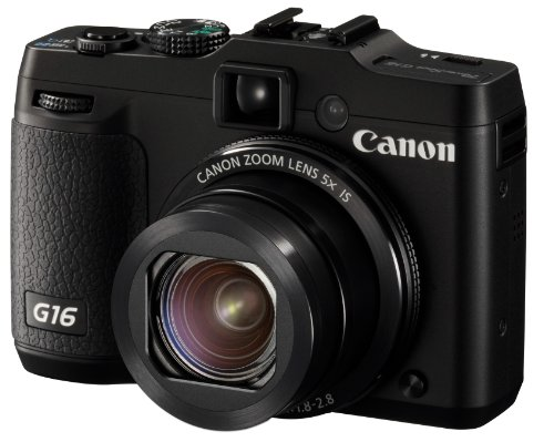 Canon Powershot G16 12.1 MP Point and Shoot Digital Camera (Black)