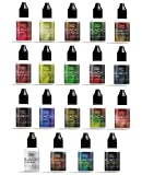 BLACKC PREMIUM E-Liquid für E-Zigaretten und E-Shishas, MADE IN GERMANY, Nikotinfrei, 19 Geschmackssorten, 20/50 ml Fläschchen (Menthol +, 50 ml)