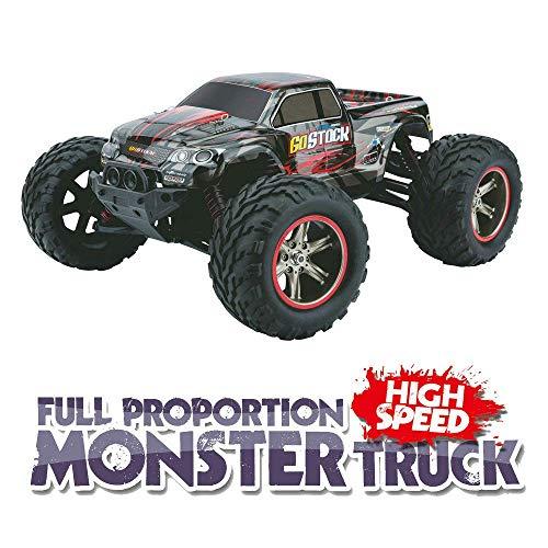 RC Monstertruck kaufen Monstertruck Bild 1: GoStock Ferngesteuertes Auto, 1:12 Skala RC Auto Off Road Elektro Fahrzeug 2.4G Hohe Geschwindigkeit von 42 km/h Alles Gelände Ferngesteuerter Auto für Kinder Draußen*