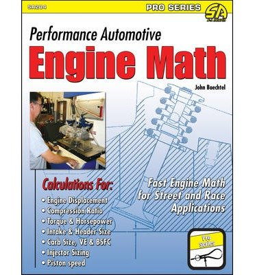 Performance Automotive Engine Math (Sa Design-Pro) Baechtel, John ( Author ) Apr-15-2011 Paperback