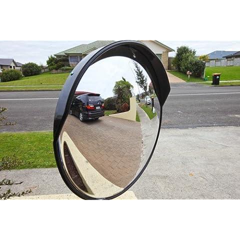 Espejo de Calle Curvo Convexo de Seguridad H9Q 30 CM PARA SEGURIDAD DE ENTRADA