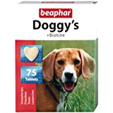 Beaphar Doggy's Biotine Tablets, Dog Supplement, 75 Tablets