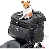 Saddlemen Pet Voyager bolso para moto para el transporte de perro