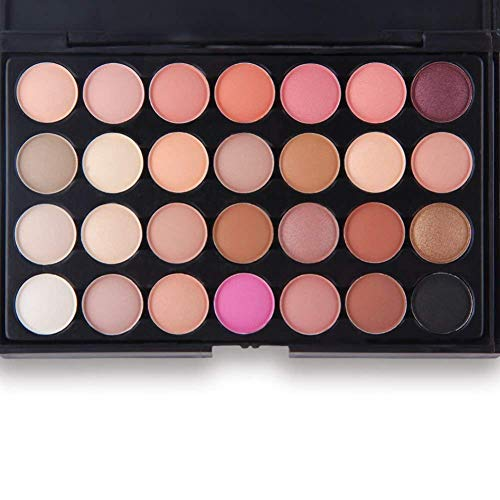 Start Makers 28 Colors Eyeshadow Earth Warm Color Shimmer Matte Eye Shadow Palette
