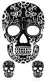 Temporäres Arm Fake Totenkopf Tattoo für Herren und Frauen mit Motiv...