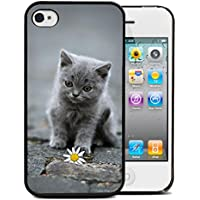Silikon Schutzhülle BUMPER für IPHONE 5c, biegsam, cat Tier adorable minion-DESIGN case DESIGN 3 Displayschutzfolien