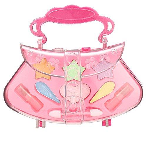Wateralone Kinder Make-up Spielzeug Set Prinzessin Mädchen Koffer Rollenspiel Spielzeug Pretend Makeup kit, ideal für kleine Mädchen Prinzessin Geburtstagsgeschenk ()