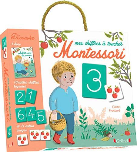 Mes chiffres à toucher Montessori par Céline SANTINI, Vendula KACHEL