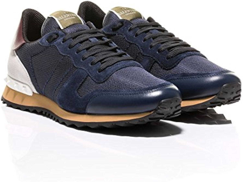 Valentino Herren Sneaker Navy  Billig und erschwinglich Im Verkauf