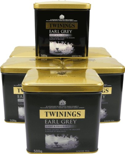 Twinings Earl Grey, 6er Pack mit je 500 g