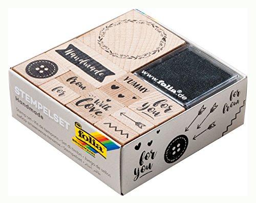 Folia 31107- Handmade Holzstempelset