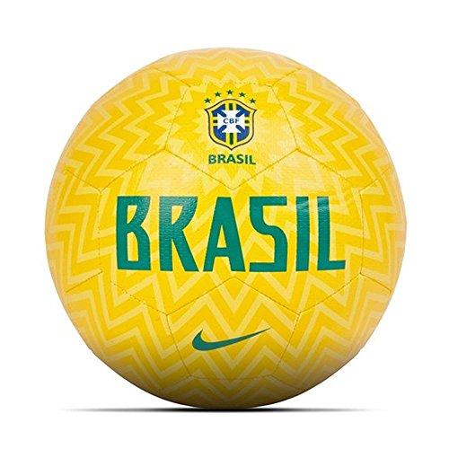 Nike 2018-2019 Brazil Prestige Football (Yellow)