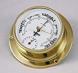 NAUDET Baromètre-thermomètre Ø100MM