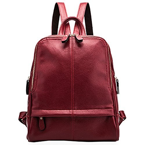 Mlife Faux Leather Backpack for Women Chic Campus Backpack Purse with  Removable Shoulder Strap (Style e2e1a2363f