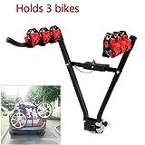 HH Limited 3 Fahrradträger Bicycle Fahrradhalter Räder Heckträger Fahrrad Faltbar/V-Typ