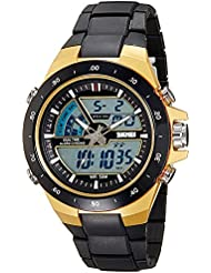 Upto 85% Off On Skmei Chronograph Analogue Digital Sport Men's Watches low price image 7