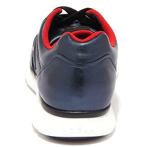 3739Q sneaker uomo scarpa blu HOGAN CLUB sneaker men Blu