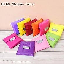 E-Goal 10PCS mehrfarbige Faltbeutel Einkaufstaschen
