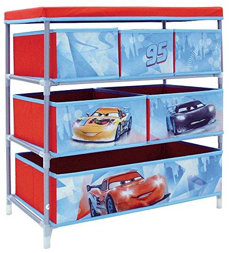 fun-house-712514-disney-cars-etagere-de-rangement-avec-6-casiers-pour-chambre-denfant