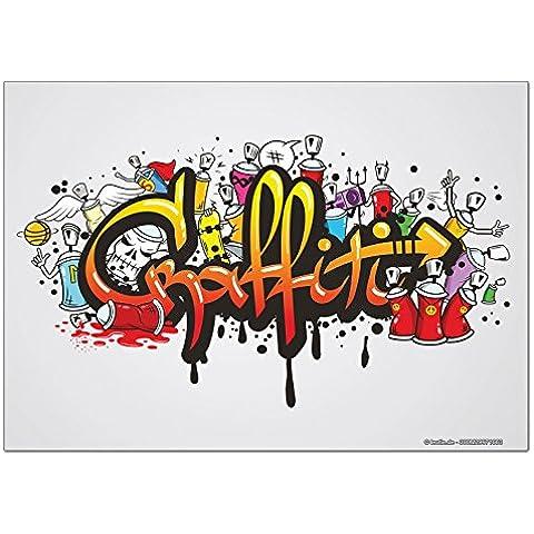Magneti Calamite frigorifero Feng Shui Foto Graffiti