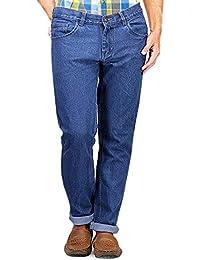 M.Weft Men's Trendy Blue Jeans _28