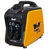 Wolf Power Genie Digital WPG2000 2000w 6.5HP 4 Stroke Quiet Portable Petrol Inverter Camping Generator - 2 Year Warranty