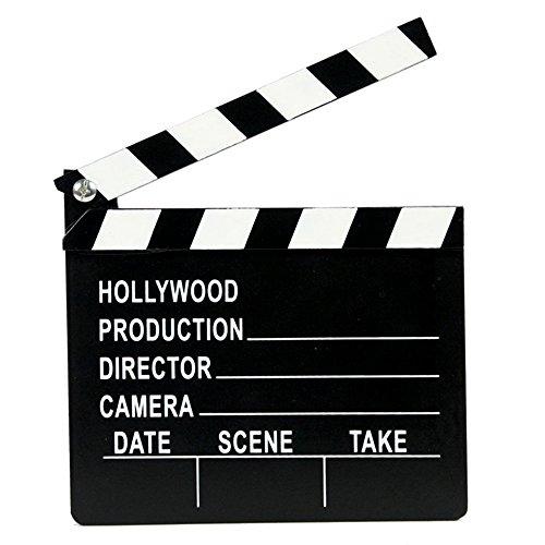 TRIXES-Directors Cut Regieklappe, Innovative Film-, Aktion- und Kameraklappe, Hollywoodfilm- und VIP Foto (Und Kostüme Hollywood Requisiten)