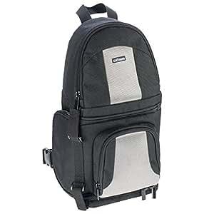 Dörr 455886 Sac à dos pour appareil photo DSLR/objectif standard/flash Noir/Argenté