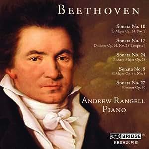 Beethoven - Piano Sonatas Nos 9, 10, 17, 24 and 27