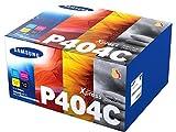 Samsung CLT-P404C (SU365A) Pack de 4 cartouches de toner  noir/cyan/magenta/jaune, pour imprimantes SL-C430W, SL-C480W, SL-C480FW...
