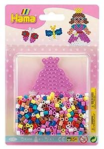 Hama 10.4181 Princess - Juego de Cuentas para Mosaico (tamaño pequeño), diseño de Princesas