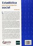 Image de Estadística para investigación social (Texto (garceta))