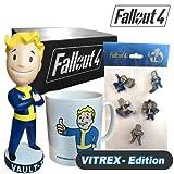 Merc Fallout 4 Vault Box schwarz (Tasse + Pins + Bubblehead)