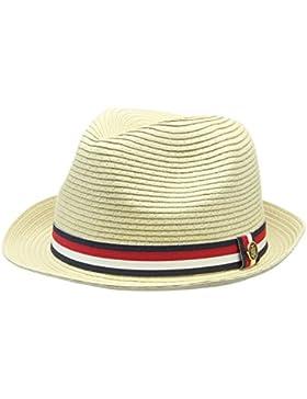 Tommy Hilfiger Damen Sonnenhut Bohemian Hat, Beige (Natural Mix 901), One size