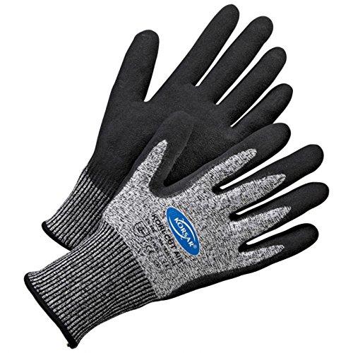 Schutzhandschuhe Arbeitshandschuh Handschuh Kori-Cut Air grau-schwarz - Größe 9