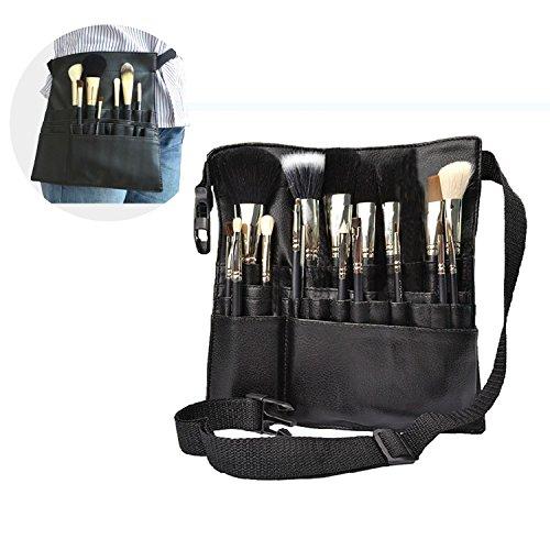 Preisvergleich Produktbild Neu Künstler 22 Taschen Professionelle Make-Up Pinsel Tasche Pouch Strap Gürtelschürze Werkzeug Kosmetik Pinsel Tasche DE