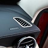 Décoration, couvre sortie d'air du tableau de bord pour véhicule Mercedes Benz de classe C, accessoires W205C200Glc26030020152016