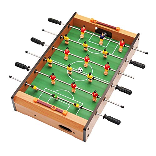Table Football Kids Toys Children's Educational Toy 3-10 Year Old Children's Toy Gift 6-seat Machine Gift Family Game Machine Wood Arcade & Table Games