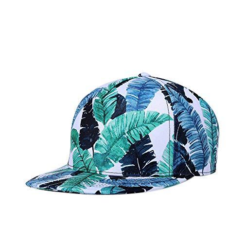 Qyoung Unisex Baseballmütze mit verstellbarem Gürtel und Schnalle, Flex Fit Flache Traufe Hip-Hop Trucker Hut Wanderhut für Damen und Herren, Schwarz