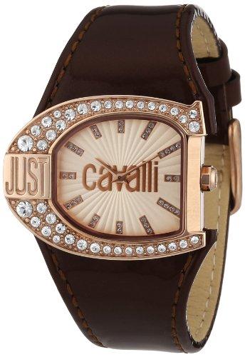 Just Cavalli R7251160505 - Reloj analógico para Mujer de Tela Oro