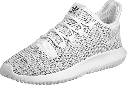 adidas Tubular Shadow Knit, Scarpe Running Uomo, Bianco (Ftwr White/Ftwr White/Core Black), 41 1/3 EU
