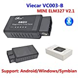 Viecar ELM 327 Bluetooth v2.1 EOBD 2 CAN-BUS OBD2 Diagnostic CAR Reader Scanner