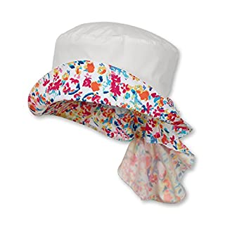 Bellagenda Sterntaler Hut m. Nackenschutz Bonnet, Weiß (Weiss 500), 55 Fille (B073SX578J) | Amazon Products