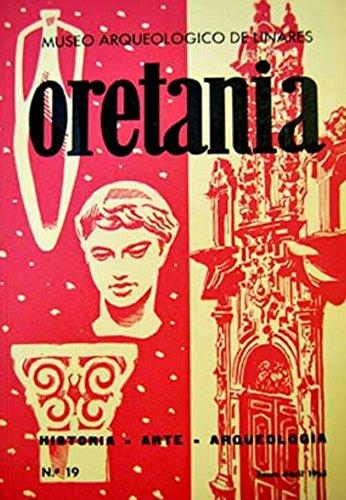 Oretania. Revista de Historia, Arte, Arqueología. Número 19. Año 1965