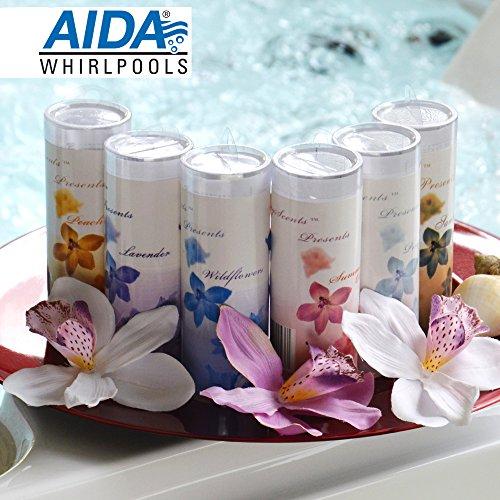 Preisgünstiges 6er-Duftset Düfte, Dufteinsatz Stick für Aromatherapie, Outdoor Whirlpool