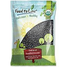 Food to Live Frijoles tortuga negras (Secos, no OMG) 6.8 Kg
