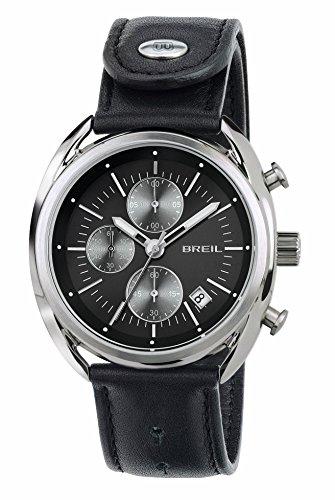 Breil orologio cronografo quarzo uomo con cinturino in pelle tw1527