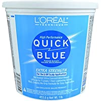 L'Oreal Quick Blue Polvere Decolorante 450 gm - Gm Corpo